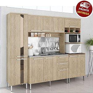 Cozinha Completa Modulada - Carvalho Arte Cass