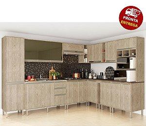 Cozinha Completa Modulada 12 Peças Luana - Arte Cass