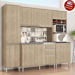 Cozinha Completa Modulada 4 Peças Luana - Arte Cass