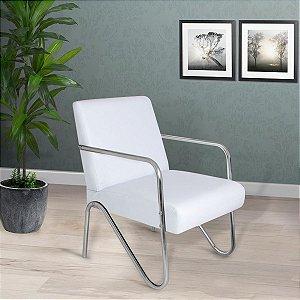 Poltrona/Cadeira Decorativa Sirena - Branco