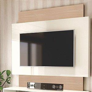 """Painel para TV até 55"""" 1,40x1,32m TB131- Natural Off White"""