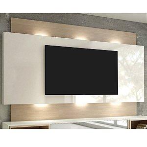 "Painel para TV até 65"" com LED TB133L - Natural Off White"