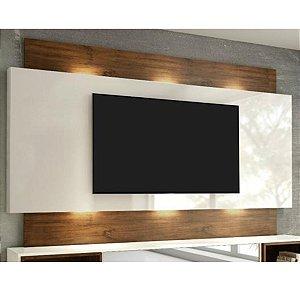 """Painel para TV até 65"""" Com LED TB133L - Off White/Nobre"""