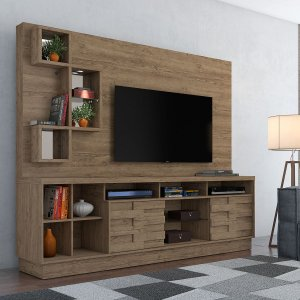 Painel Home Para TV Heitor - Rijo