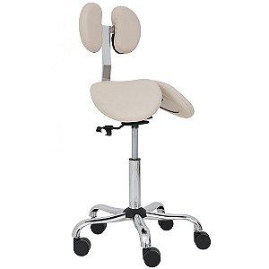 Cadeira Mocho C/ Encosto Profissional Dentista Cirurgião Clínica Oftalmo