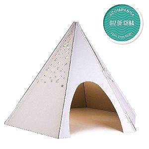 Cabana Barraca Tenda P/ Criança Infantil C/ Céu Estrelas