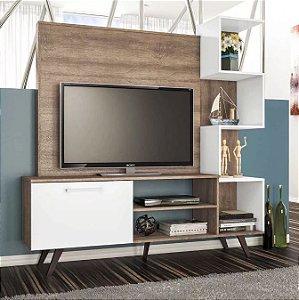Rack Com Painel Para Tv Até 40 Polegadas 1 Porta Rt3052
