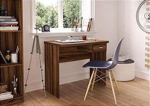 Mesa Escrivaninha Para Computador Com 1 Gaveta New Avelã