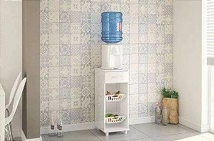 Fruteira Balcão Bebedouro Água Compacta 1 Gaveta Branca