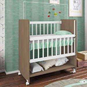 Berço Infantil Bedside Sleepers Soneca Alto Montana Premium Luxo