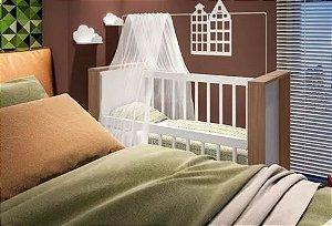 Mini Berço Mesa Infantil Multifuncional Bedside - Montana