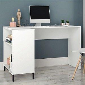 Mesa de Computador Escrivaninha Square Branco