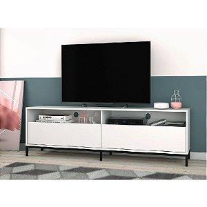 """Rack Home para Sala 180cm para TV 50"""" Square Branco"""