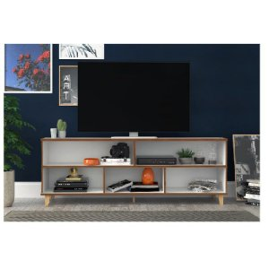 "Rack Home para Tv 50"" 180cm Branco BR54"