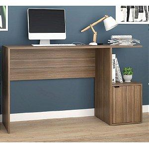 Mesa escrivaninha De Computador Bc75 - Castanho