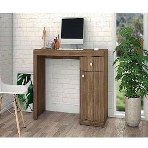 Mesa Office Escrivaninha Para Computador Bc 35 - Castanho