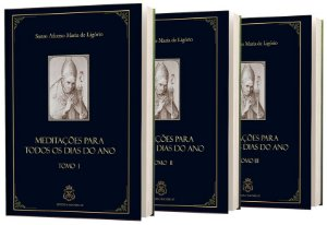 COMBO MEDITAÇÕES SANTO AFONSO TOMOS I, II E III
