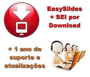 EasySlides + SEI - 1 Ano de Atualização e Suporte