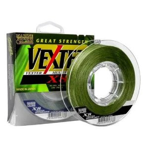 Linha Multi Marine Sports Vexter 8X 0,29mm 40lbs 300m Verde