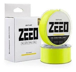 Linha Monofilamento Softline Zeeo Amarelo 0.40mm 23lb 300m