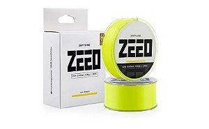Linha Monofilamento Softline Zeeo Amarelo 0.33mm 16lb 300m