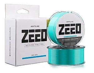 Linha Monofilamento Softline Zeeo Azul 0.33mm 16lbs 300m