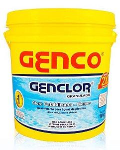 Cloro Granulado Genclor 10kg- Genco
