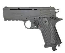 Pistola de Pressão Co2 Rossi Wingun W401 Polimero 4,5mm