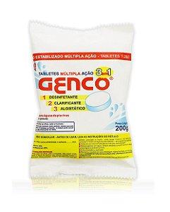 Pastilha Genco Multipla Ação 3 em 1 - 200gr