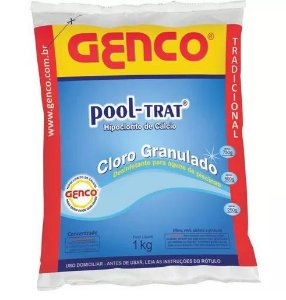 Cloro Granulado Pool-Trat 1Kg Genco