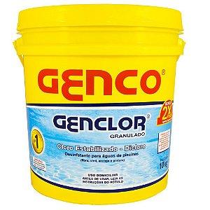 Cloro Granulado Estabilizado Genclor Genco 10kg