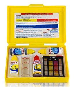Estojo de Testes GENCO - Cl/pH