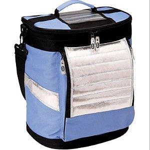 Bolsa Térmica Ice Cooler Mor 18 Litros Azul