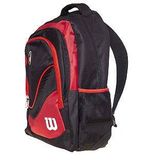 Mochila Wilson WTIX 14740D B1 Preto e Vermelho
