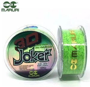 Linha Multi Maruri Joker 3d 0,40mm 22,13lbs/10,04kg - 300m