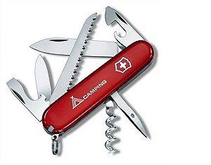 Canivete Victorinox Camper Vermelho Camping 1.3613.71
