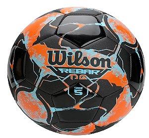 Bola Futebol Campo Wilson Rebar Ng - Laranja e Preto