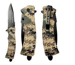 Canivete Albatroz ZD-L008 Lâmina em Aço 440