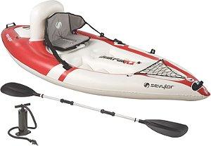 Caiaque Inflável Sevylor QuikPak Kayak K1 - 1 pessoa