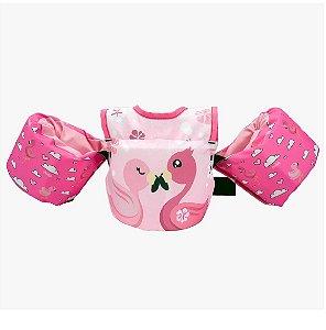 Colete Salva Vidas Infantil Homologado - Flamingo