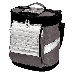 Bolsa Térmica Ice Cooler Mor 18 Litros Cinza