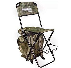 Cadeira Com Mochila Marine Sports HMS043 Camuflada