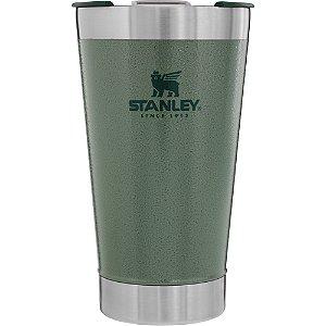 Copo Térmico de Cerveja Stanley Verde Com tampa - 473 ML