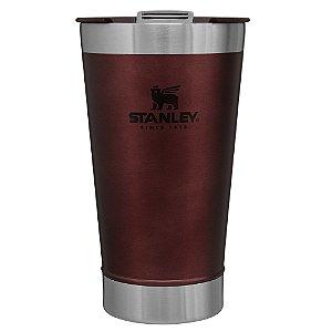 Copo Térmico de Cerveja Stanley Vinho Com tampa - 473 ML