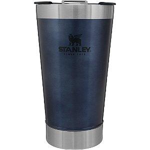 Copo Térmico de Cerveja Stanley Azul com Tampa - 473 ML
