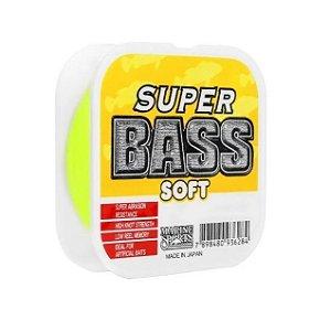 Linha Mono Marine Sports Super Bass Soft 0,33 - Amarela