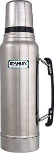 Garrafa Térmica Classic Stanley inox C/Rolha De Precisão 1L