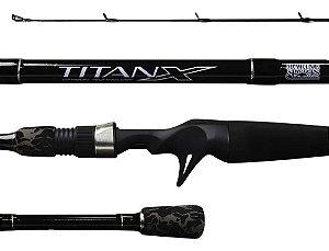 Vara Marine Sports Titan X 1,68m 17Lbs - 2 Partes Carretilha