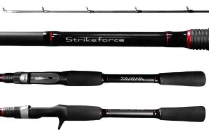 Vara Daiwa Strikeforce 1,68m 25Lbs 562 - 2 Partes Carretilha