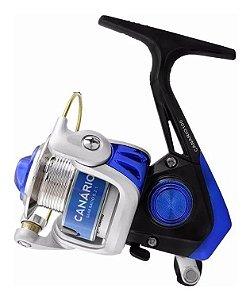 Molinete Albatroz Micro Canário 100 Azul -1 Rolamento